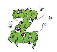 Z is for Zombie by Lhollowaydesign