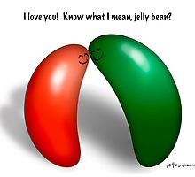 Jelly bean love! by graphicdoodles