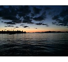 Sunset Across The Bay Photographic Print