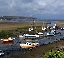Abersoch Harbour by AnnDixon