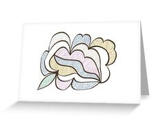 Bubbled Shape Greeting Card