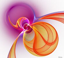 'Light Flame Abstract 231' by Scott Bricker