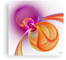 'Light Flame Abstract 231' Canvas Print