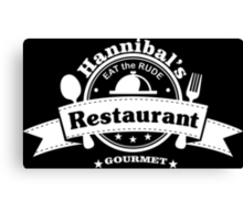 Hannibal Restaurant Canvas Print