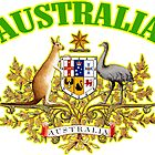 Australia Coat of Arms by ukedward