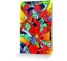 Tronstyler Greeting Card