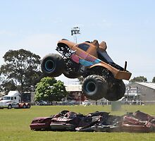 Monster Truck. by nJohnjewell