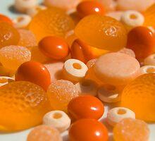 Candy Rainbow: Orange 2 by bbbautista