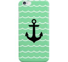 Anchor and Wave iPhone Case/Skin