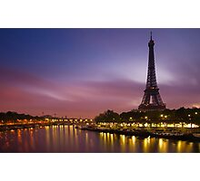 Paris, France. Photographic Print
