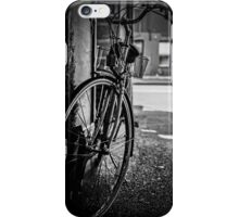 Black and White Bicycle iPhone Case/Skin