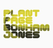 Plant Page Bonham Jones T-Shirt