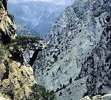 Samaria Gorge from Ginglos by Francis Drake