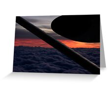 Sunsets & Shapes Greeting Card