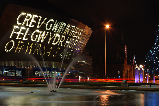 Wales Millennium Centre by Swell Photography