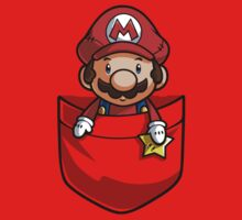 Pocket Mario Super Mario T-Shirt by Purrdemonium