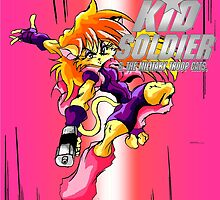 Cleo-Kid Soldier Anime  by TakeshiMedia