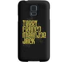 Terry Franco Mean Joe Jack / Black Samsung Galaxy Case/Skin