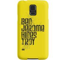 Ben Jerome Hines Troy / Gold Samsung Galaxy Case/Skin