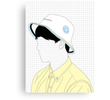jin young Canvas Print