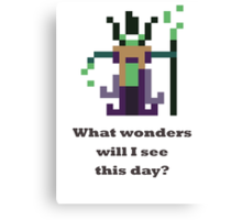 Rubick - What wonders will I see this day? Canvas Print