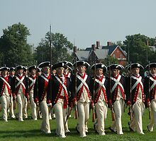 US ARMY 3d Infantry Regiment - Commander in Chief's Guard by John Michael