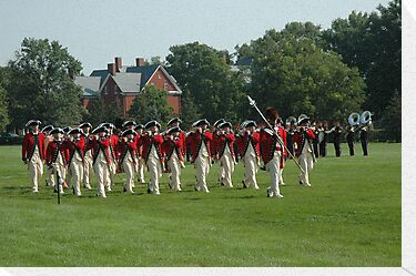US Army 3d Infantry Regiment - The Old Guard Fife and Drum Corps by John Michael