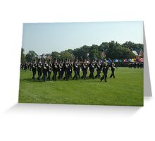 US ARMY 3d Infantry Regiment - The OLD GUARD - Troops Pass in Review Greeting Card