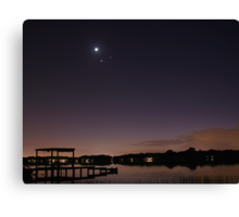 Conjunction Canvas Print