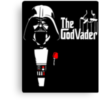 The GodVader - Star Wars GodFather Canvas Print