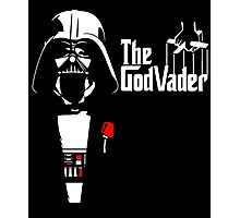 The GodVader - Star Wars GodFather Photographic Print