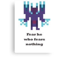 Terrorblade - Fear he who fears nothing Canvas Print