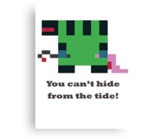 Tidehunter - You can't hide from the tide Canvas Print
