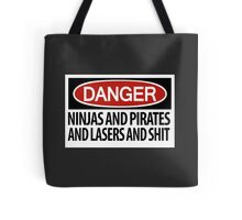 Ninjas and Pirates and Lasers, Oh My! Tote Bag