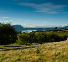 Panoramic view of rural scenery by peterwey