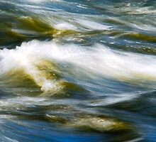 Waves Abstract by Christina Rollo