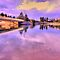 Reflections In Lavender - Narrabeen Lakes - The HDR Series by Philip Johnson