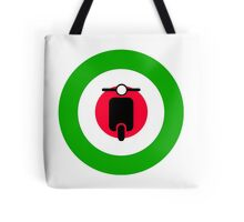 Scooter target - Mods Italy Tote Bag