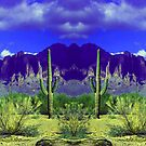 Superstition Mountain Poster by Dennis Begnoche Jr.
