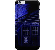 Neon Blue T.A.R.D.I.S. iPhone Case/Skin