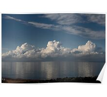 Rolling Clouds Poster