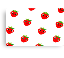 Berry Berry Cute  Canvas Print
