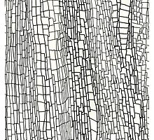 Abstract Line Art 1 by rebeccaposselt