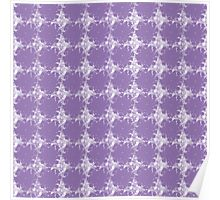 purple pattern Poster