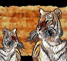 Tigers by CheyenneLeslie Hurst