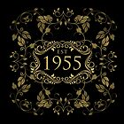 1955 Birth Year by thepixelgarden