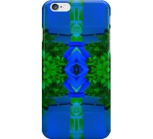 Blue and Greenery iPhone Case/Skin