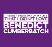 Regret Every Day - Benedict Cumberbatch (Variant)  by huckblade