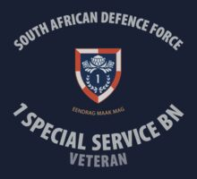 SADF 1 Special Service Bn (1SSB) Veteran T-Shirt