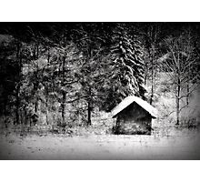 Another hut at the lake Photographic Print